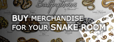 Buy merchandise for your snake room